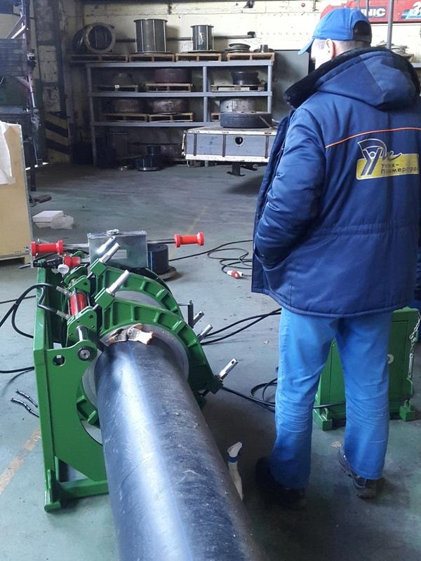 Аппарат для стыковой сварки ПЭ-труб ProWelder D450